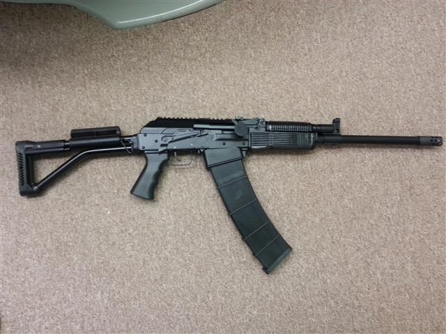 Molot Veper 12 with 12 round Mag.