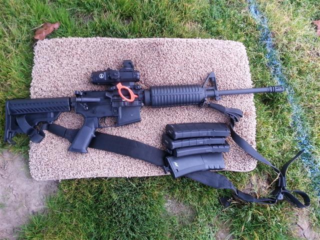 AR15 Shooting Dentist